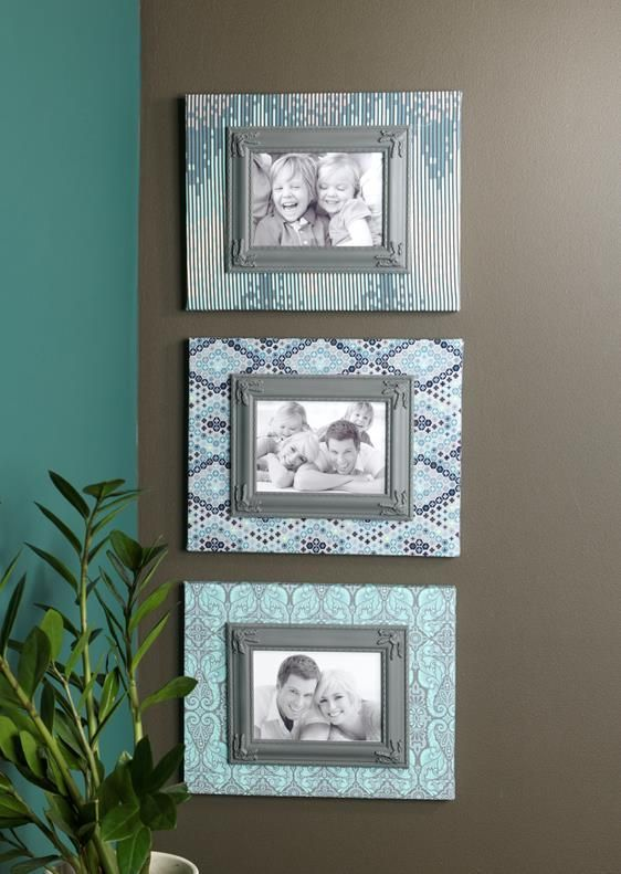 This Is Exactly The Type Of Framing I Want For My Walls Fabric Over Canvas For A Unique Look Frame Photos Homedecor Picture Frames Diy Canvas Frame