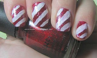 Candy Cane freehand