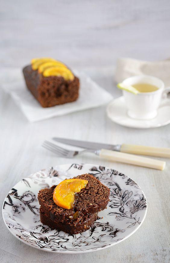 ¡Qué cosa tan dulce!: Loaf Cake de chocolate y mermelada de naranja