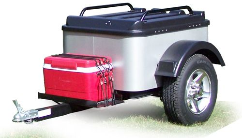 Small Trailers To Pull Behind Your Car Small Trailers Tow
