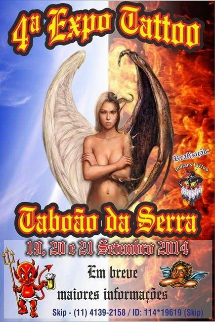 Tattoo & Ink: 4º Expo Tattoo – Taboão da Serra 2014