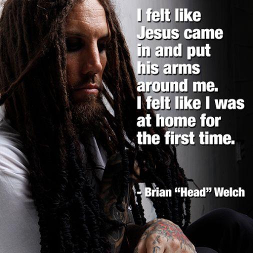 Brian Welch Christian Korn, Jesus and Felt o...