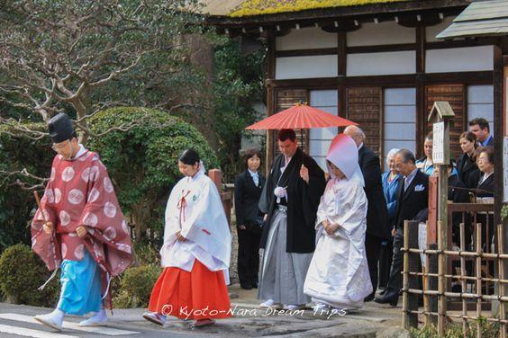 Shinto wedding at the Kamigamo Shrine (上賀茂神社) in Kyoto! #Kamigamo, #Kyoto, #Japan, #WorldHeritage, #上賀茂神社,