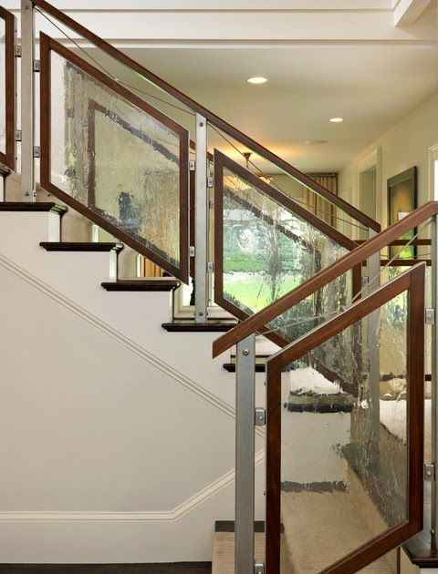 18++ Frosted glass stair railing ideas