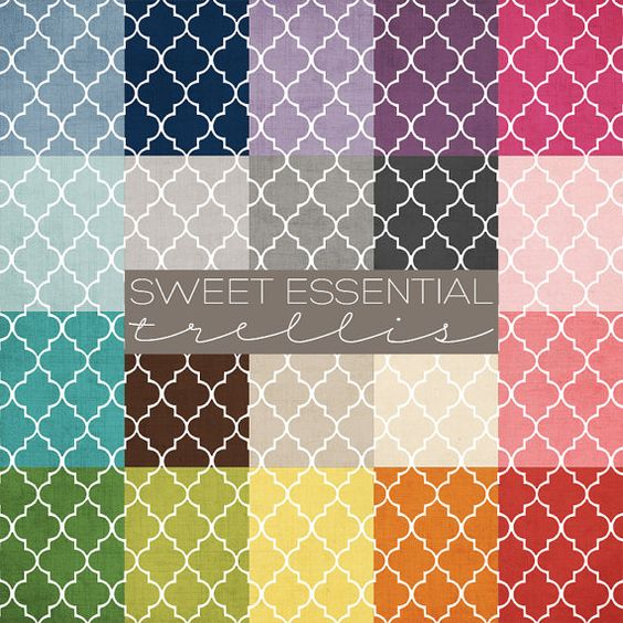 12x12 Digital Paper Collection  Sweet by PrairieSweetBoutique, $8.00