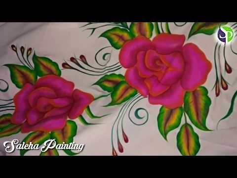9 Rose Bedsheet Design 12 12 2017 Youtuber Saleha Ansari Youtube