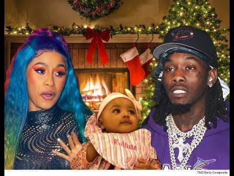 Cardi B Offset Playing With Baby Kulture Offset New Jewelry