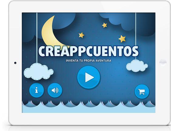 CreAPPcuentos   Crea tus cuentos interactivos 25 de diciembre lanzamiento.