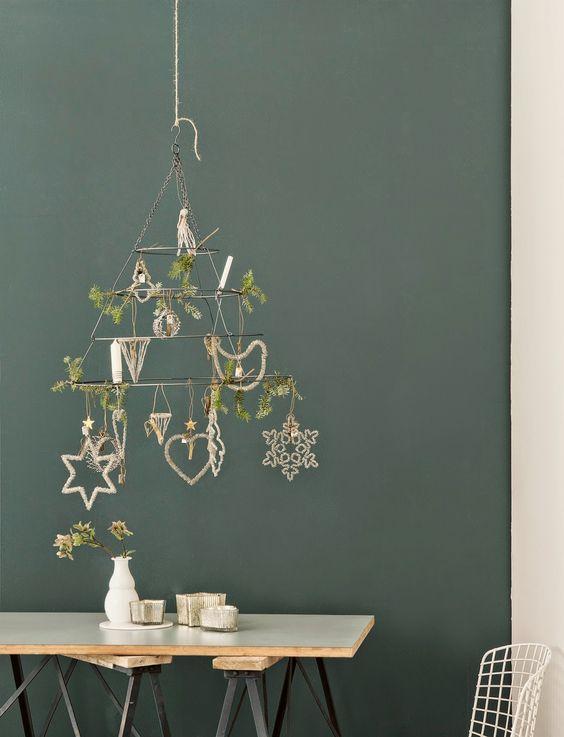 Virlova Interiorismo: [Deco] Metal y madera para decorar una navidad industrial: Christmas Spirit