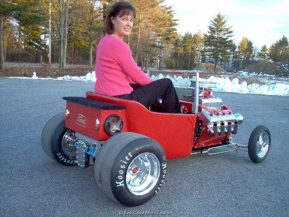 Mini T Bucket Barstool Racers Kids Hotrod Pinterest