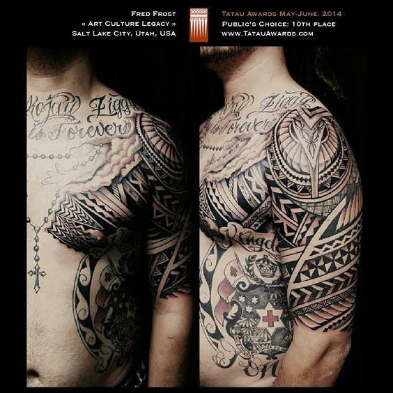 Tatau Winner #samoan #tattoo