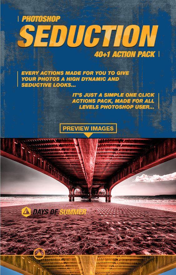 """Photoshop Action Pack """"Seduction 40+1"""""""