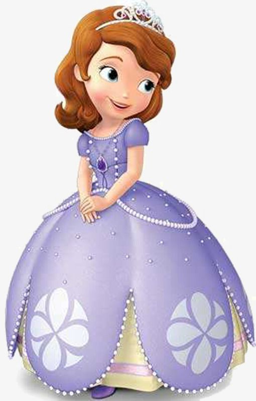 Cartoon Princess Cartoon Clipart Cartoon Pretty Png Transparent Clipart Image And Psd File For Free Download Sofia The First Birthday Party Sofia The First Characters Princess Sofia The First