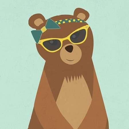 Hipster Bear I