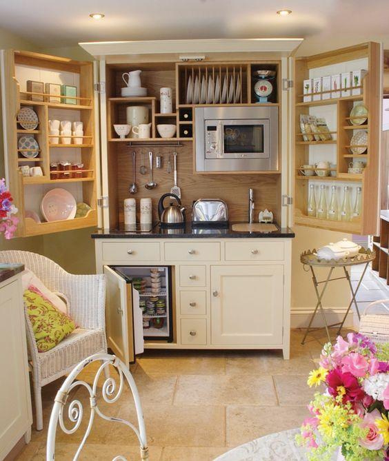 kleine wohnungen einrichten kleine küche gestalten | 1 ...