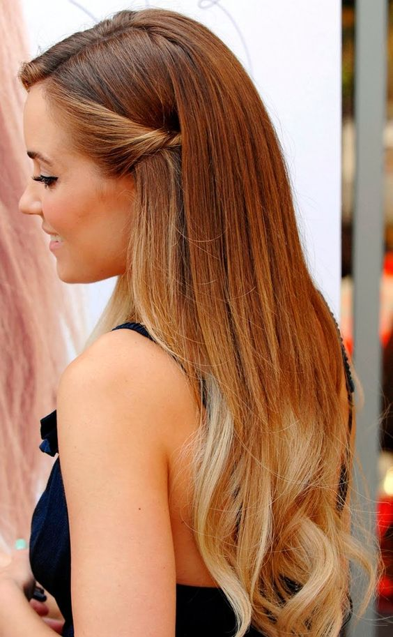 10 Ideias de penteados: Lauren Conrad: