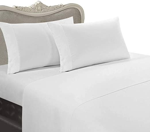 Comfy Sheets Luxury 100 Egyptian Cotton Genuine 1000 Thread Count 4 Piece Sheet Set Fits Mat Best Egyptian Cotton Sheets Egyptian Cotton Sheets Comfy Sheets