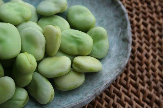 Two Peas Kitchen: Ornella's Pasta with Fresh Tender Broad Beans, Garden Peas and Pecorino