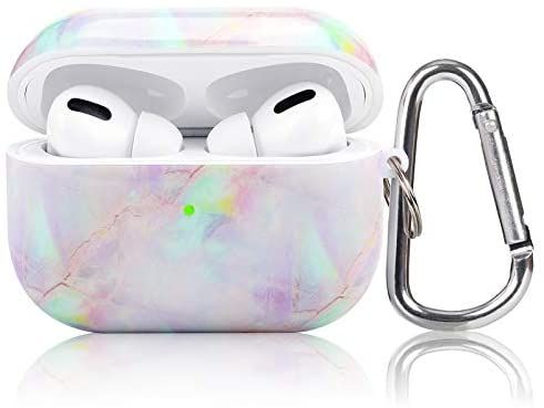 Amazon Com Airpod Pro Case Koreda 3 In 1 Marble Cute Hard Airpods Accessories Protective Cover Case Portable Shockproof Girls Wo Airpods Pro Airpod Pro Case