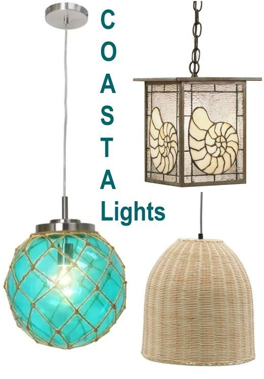 Coastal Pendant Ceiling Lamps Beautiful Coastal Pendant Lights
