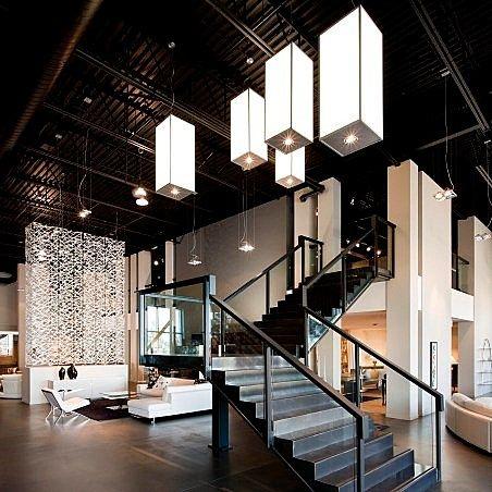 Industrial Modern Loft Lobby Lobby Inspiration