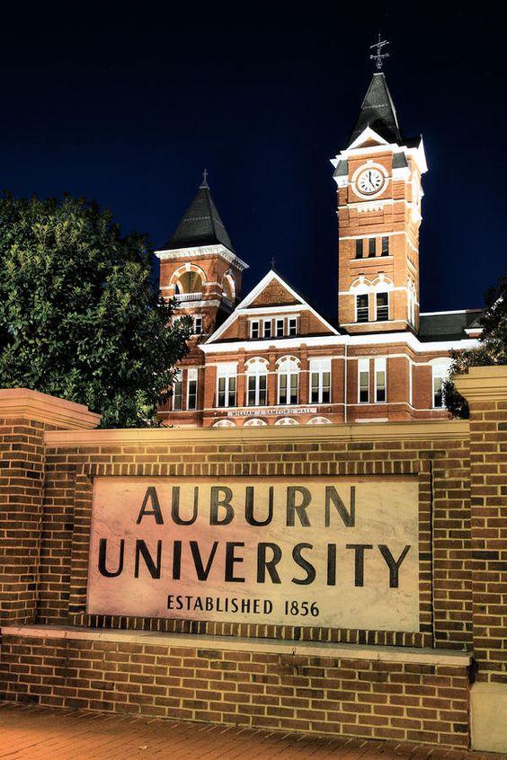 Auburn University Photograph  - Auburn University Fine Art Print