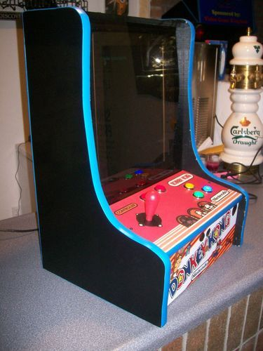 Countertop Arcade : arcade ideas arcade game and more arcade games donkeys black donkey ...