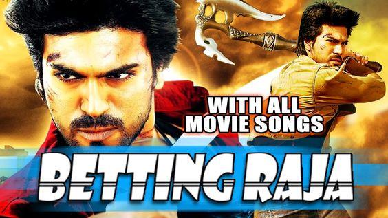 hindi dubbed movies of ramcharan - betting raja poster