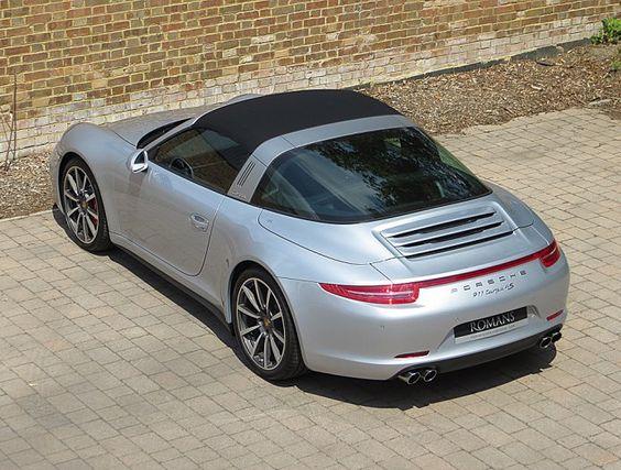 2014 New Porsche 911 (991) Targa 4S | Rhodium Silver
