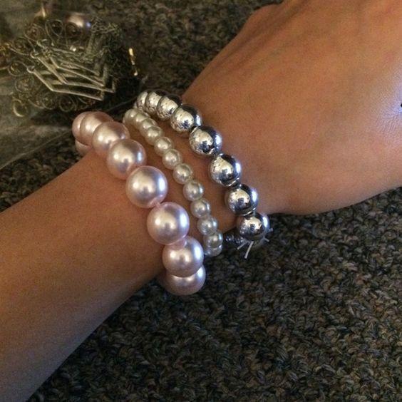 Bracelets I selling both sets I don't wear them Jewelry Bracelets