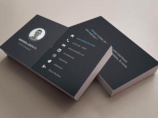 Warren Lebovics Business Cards  Business Cards  The Design