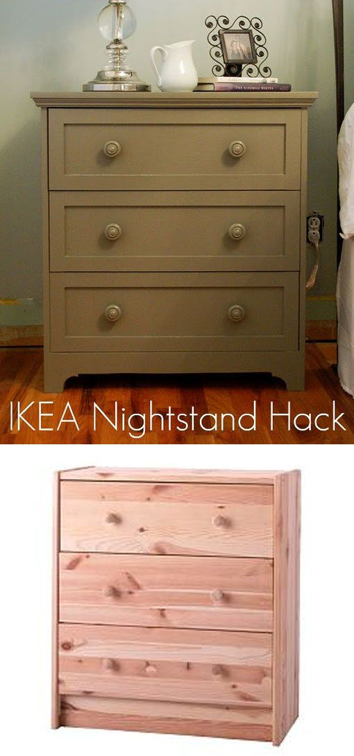 Diy ikea rast nightstand hack full step by step for Diy small nightstand