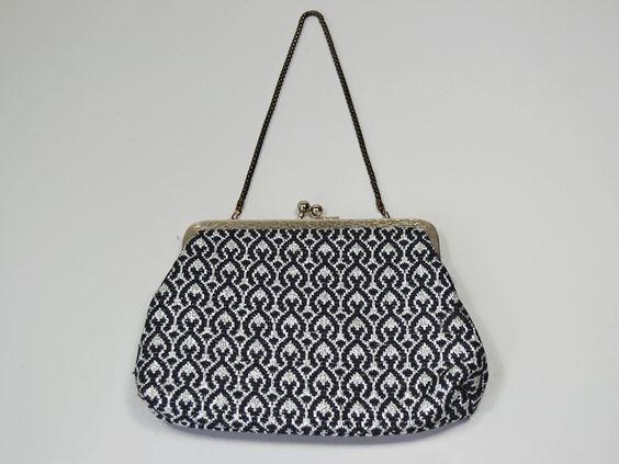 Vintage 50er Lurex Abendtasche oder Brauttasche von Wunder-Same Vintage auf DaWanda.com