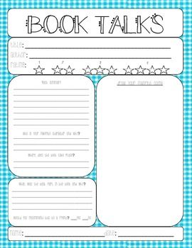 How to start a book report for elementary