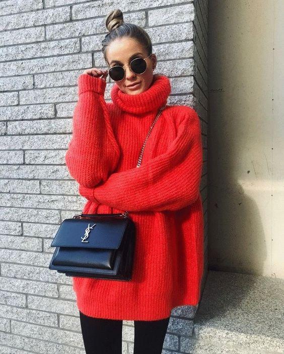 Красный цвет 2019   Новости моды