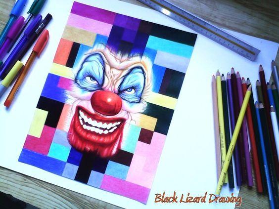 PayasoMulticolor por BlaackLizzard - Fantasía | Dibujando.net