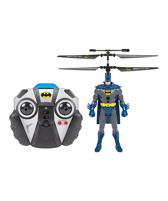 Batman Silver Age 2-Channel Remote Control Helicopter by DC COMICS #zulily #zulilyfinds