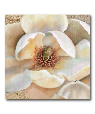 Magnolia Masterpiece Canvas Wall Art #zulilyfinds