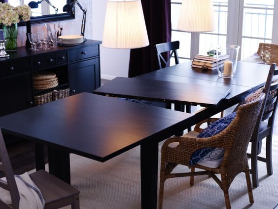 Solid Pine Dining Tables And Ikea Dining Table On Pinterest