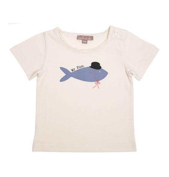 "Emile et Ida T-Shirt ""Mr Fish"""
