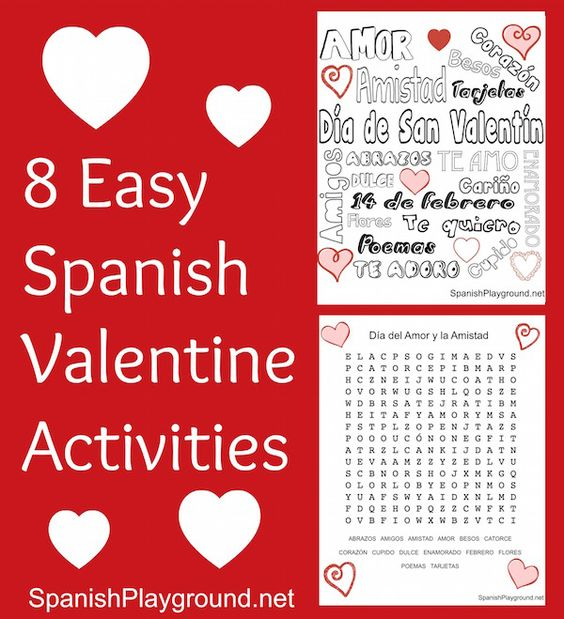 spanish valentine coloring pages - photo#13