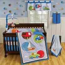 Edredones para bebe ropa de cuna corral o cama cuna carter decoracion habitaciones bebe - Protectores para cama cuna ...