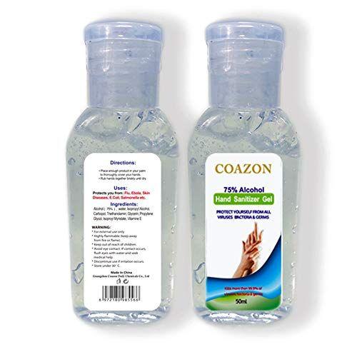 Macroog 50ml Hand Sanitizer Gel Hand Gel Refreshing Hand Gel