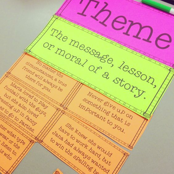 Teaching Theme (Life in Fifth Grade) | Teaching Themes, Fifth ...