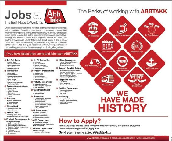 Abb Takk TV News Channel Pakistan Jobs Private Jobs Pinterest - anti piracy security officer sample resume