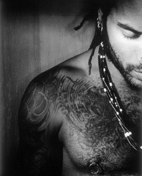 lenny kravitz  #tattoo