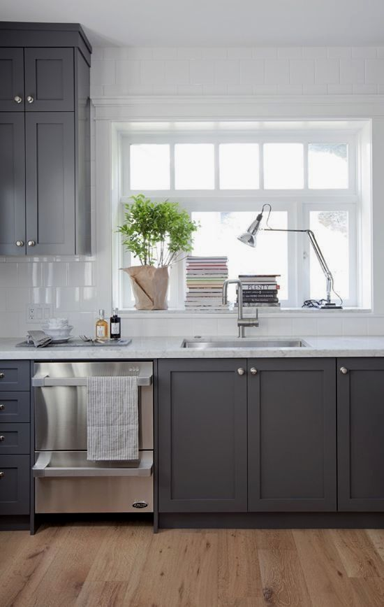 Two Tone Kitchen Cabinets Used Corner Kitchen Pantry Cabinet Unfinished Kitch New Kitchen Cabinets Painted Kitchen Cabinets Colors Dark Grey Kitchen Cabinets