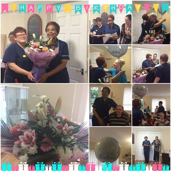 70th Birthday wishes for Jean at Birch Green - Birch Green Care Home Skelmersdale