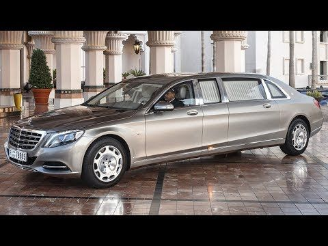2019 Mercedes Maybach S600 Pullman Unveiled Youtube In 2020