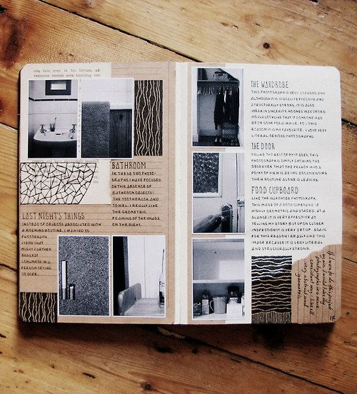 Perfectly Organized Journaling Inspiration- I like photos and journaling together. Someone remind me to get smaller pictures next time I order! ;)